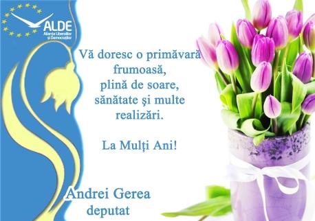 Felicitare 8 martie_albastru
